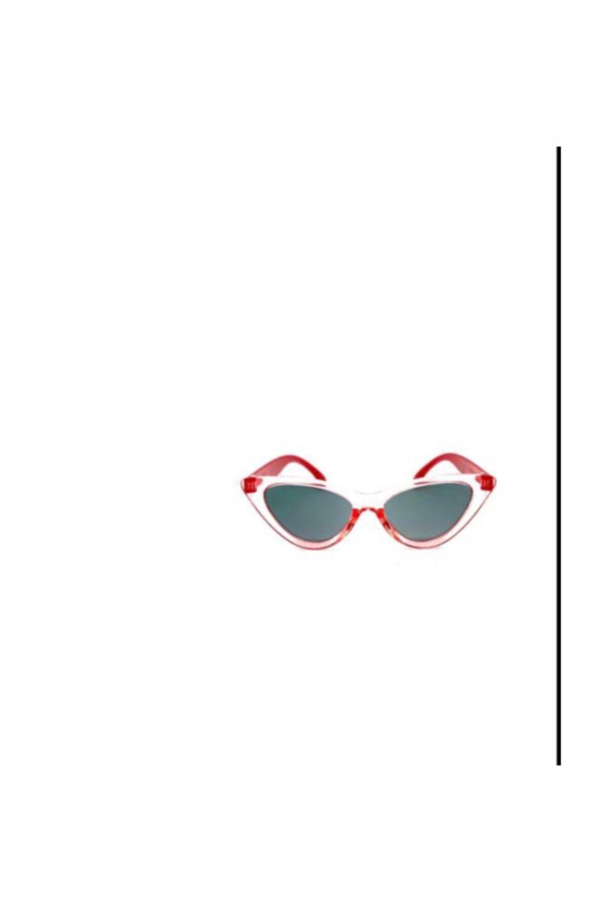 عینک آفتابی جدید بچه گانه دخترانه شیک برند GÖZLÜKDÜKKANI رنگ قرمز ty98315940