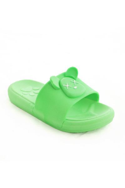 دمپایی بچه گانه پسرانه جدید برند Daye رنگ سبز کد ty99228405