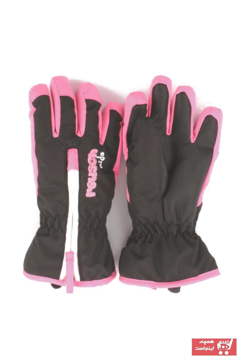 خرید انلاین دستکش جدید بچه گانه پسرانه شیک برند Reusch رنگ مشکی کد ty996333