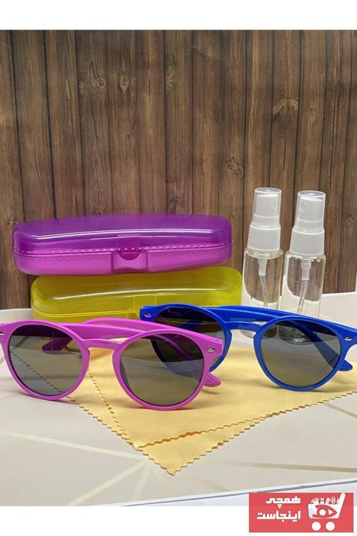 خرید مدل عینک آفتابی بچه گانه پسرانه برند GBN رنگ مشکی کد ty99730555